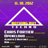 Opencloud - live at Nothing But Techno in Dallas, USA (2012.11.10.)