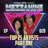 Episode 20: Top 25 Musical Artists Part 1