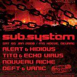 Nouveau Riche - live @ Sub.System