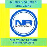 Nico Romano Dj Mix Volume 3 EDM Zone - Spring 2014