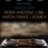 Romy Ancona Birthday Set @ Ecco Ultra Lounge 3/24/12