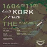 Alex Kork (Live PA) @ Stressfucktor Dazy Dazed's Birthday Special- Irgendwo in Hannover - 16.04.2011