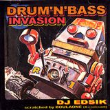 Drum&Bass invasion - Dj Edsik - Scratch by Boulaone - 2002