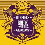 Criminal Records Promo Mix by Dj Speaks