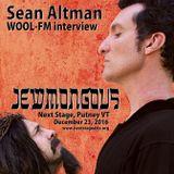 Sean Altman interview on WOOL-FM... JEWMONGOUS