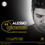 Alessio @ 4OnTheFloor - ClubbersRadio