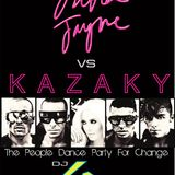 Dj GR - Erika jayne Vs Kazaky - The People Dance Party For Change