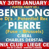 "Pierre at ""Funtek V3"" at Phoenix Club (Liège - Belgium) - 30 January 2004"