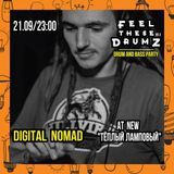 DIGITAL NOMAD - FEEL THESE DRUMZ vol.8 PROMO MIX