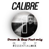 Calibre (Signature Records) @ BBC Radio 1`s Essential Mix, BBC Radio 1 (01.07.2017) *Dnb Part Only*
