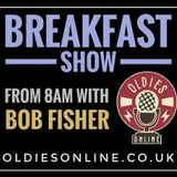 I'm back with the breakfast show  Monday  on oldies online  18 / 05 / .2020