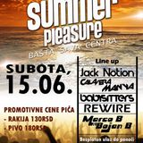 Marco B & Bojan B Live @ Basta Sava centra [Summer Pleasure] [15.06.2013]