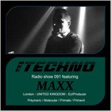 MAXX - MKE Techno Radio Show 091 (Vinyl DJ Set) December 2015