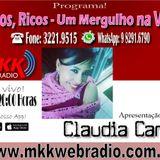 Programa Raros Ricos Um Mergulho na Vida 09.05.2017 - Claudia Canto Amando Gonzalez e Beto Kapeta