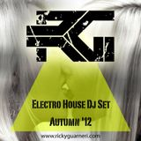 Ricky Guarneri Electro House DjSet - Autumn '12