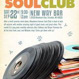 Woodward Avenue Soul Club September 22nd 2018 @ New Way Bar Ferndale, MI