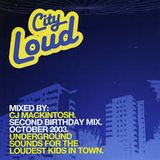 CJ Mackintosh live @ Turnmills ,London ( City Loud ,The Second Birthday ) 18 / 10/ 2013