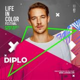 Diplo - Live @ Life in Color Festival Miami 2017