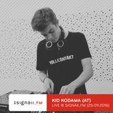 Kid Kodama - Live @ SIGNAll_FM (25.09.2016)