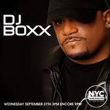 DJ BOXX NYCHOUSERADIO.COM 2017