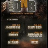 Only DNB Wednesday Live on onlyoldskool.com DJ Shadowplay & Vital Link 17/08/2016