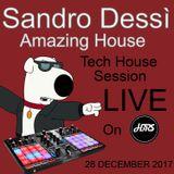 Sandro Dessì Amazing House Live on HBRS 28 December 2017