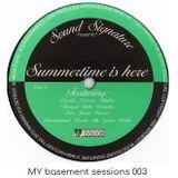 MY basement sessions 003 - summertime
