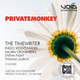 Live At Cafe Del Sol, Duesseldorf, Private Monkey - 19 May 2017