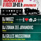 Marathon backyard party @ kafic Voz mixed by Zee Jovanovic
