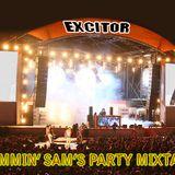 Excitor The Party Mixtape - DJ Slammin' Sam