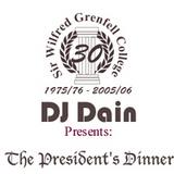 DJ Dain Presents: The President's Dinner