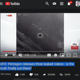 djSINyELo - UFO Pentagon releases three leaked videos is the truth finally out there 5.22.2020 a si