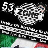 DJ Jagga @ 53 Degrees, Preston April 2014 with MannFury