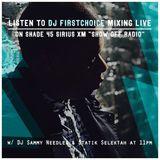 """""""Show Off Radio"""" Guest Mix on Sirius XM Shade 45 w/ DJ Sammy Needlz & Staik Selekt"""