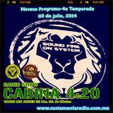 CABINA 4:20-9º PROGRAMA 4ta Temporada-Rastamania Radio