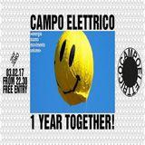 Chris Moss Acid @ Campo Elettrico 1 Year Together ! - HYDRO Biella - 03.02.2018
