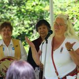 Louis Riel Day  interview  with Joy Bremner Mid Isle Metis President on Si'em' nu Ts' lhhwulmuhw