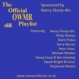 Playlist #68 Sponsored by Nancy Shoop-Wu