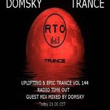 UPLIFTING & EPIC TRANCE VOL 144...MIXED BY DOMSKY