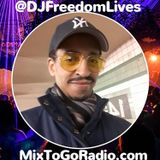 """DJ Freedom's """"Global Fusion"""" (Wed June 19, 2019) Part 2 (#RideAndVibe edition)"""