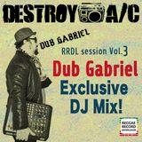 RRDL Session Vol.3: Dub Gabriel - Raggabass Rewind