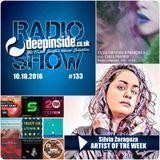DEEPINSIDE RADIO SHOW 133 (Silvia Zaragoza Artist of the week)