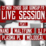 "Gone Up ""All-Star"" Live Session #01 - DJ Nano's Set"