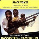 BLACK VOICES émission spéciale CAMEROUN BASSISTES  sur RADIO DECIBEL