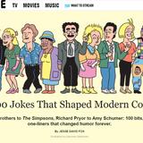 Cecilia Forss och amerikansk humorhistoria