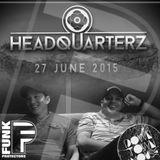 Headquarterz Promo Mix (DownTownHouse Stage) - Funk Protectors