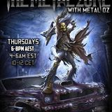 The Metal Zone Radio Show - 20th August 2015