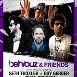 Behrouz, Guy Gerber & Seth Troxler - Wall lounge, WMC 2012 (Miami, USA) Part1 - 19.03.2012