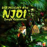 NJO! - Jungle Generation (RSF Podcast#26) - Vinyl Mix