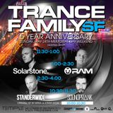STANDERWICK Live @ TranceFamily SF 5years - Temple Club (Trance-Energy Radio Live Broadcast)